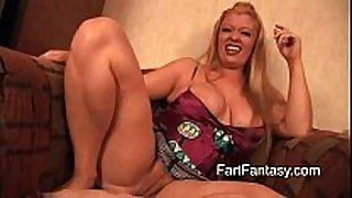 Bbw golden-haired daejha milan farting