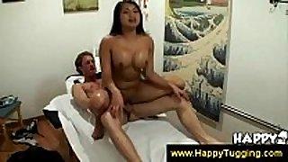 Tugjob at an oriental massage parlor