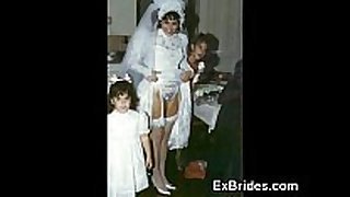 Brides nasty in public!
