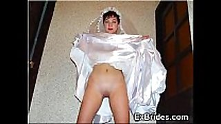 Young brides show everything!