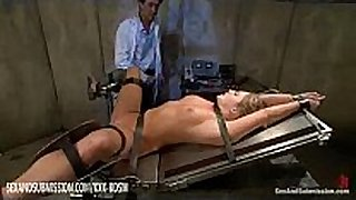 Humble blond gets anal and facial treatment