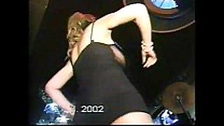 Hot abdomen dance at wedding danceing