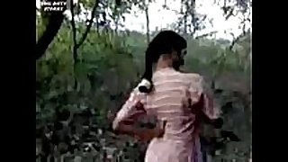 Indian white slut fucking in forest
