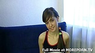 Amateur legal age teenager porn movie scene