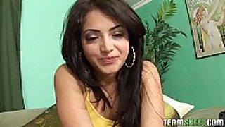 Exotic beauty andrea kelly getting fucked hard