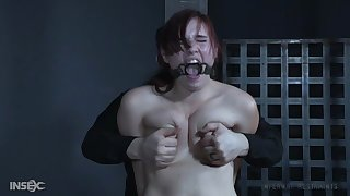 Submissive redhead bitch gets totally dominated