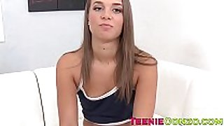 Attractive teenage honey liza rowe strips and te...
