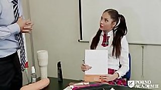 Porno academie - romanian brunette hair hair hair school BBC wench ...