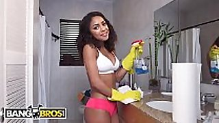 Bangbros - young legal age teenager latin chick maid nicole bexley...