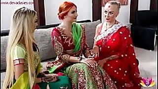 Pre-wedding indian bride ceremony (starring kay...
